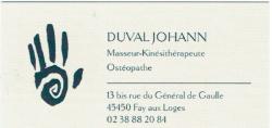 DUVAL Johann