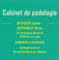 Cabinet de podologie