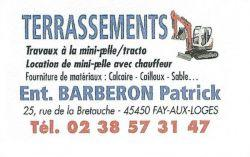 Entreprise BARBERON Patrick
